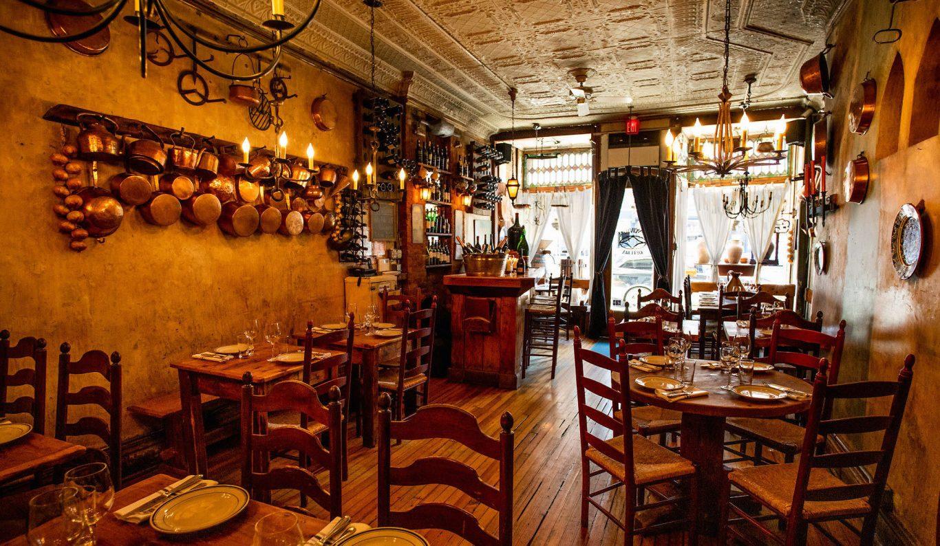 Rustic Italian restaurants